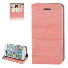 Handy Hülle Handyetui Schutzetui Tasche Schutz Case Holz Optik für iPhone 4 / 4s