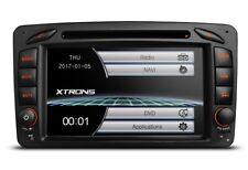 """Autorradio 7"""" Xtrons para Mercedes Benz Vaneo A-w168 Clk-c209/w209 Viano / Vito"""