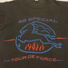 Vintage 1983 38-Special Medium T Shirt Rock Concert Screen Stars Biker Bar Tour