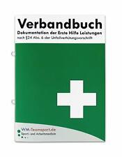 Verbandbuch - erste Hilfe DIN A5 mit Lochung