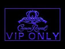 Crown Royal Whiskey VIP Only Led Light Sign US seller