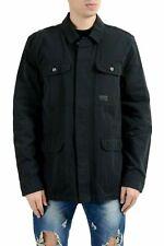 Oakley Men's Black Button Up Light Jacket Size L