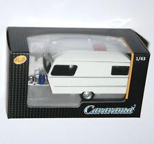 Cararama - CARAVAN IV 1990 (White/Maroon) Model Scale 1:43