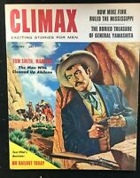 CLIMAX Magazine - Aug 1957 - Pulp / Adventure / Men's Interest / ABILENE MARSHAL