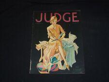 1930 SEPTEMBER 13 JUDGE MAGAZINE - AN EARLY SETTLER - ST 5648