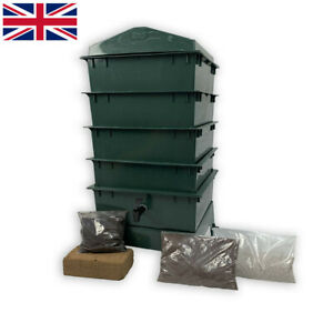 Tiger Rainbow Standard Wormery Composter. Organic Composting. 6 Colour Choice.