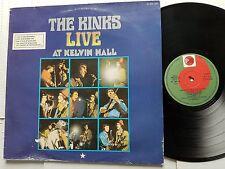 THE KINKS -  Live At Kelvin Hall 1966 RAY DAVE DAVIES Mod Garage (LP) Spain