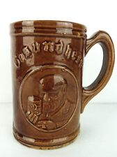 Gesundheit Pottery German Beer Stein Mug Altes Rathaus Muenchen Vintage Ceramic