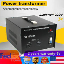 5000 Watt Voltage Converter Power Transformer Step-Up/Step-Down 5000W 110V⇋220V