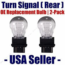 Rear Turn Signal/Blinker Light Bulb 2-pack Fits Listed Dodge Vehicles - 3057