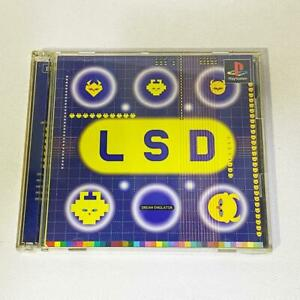 Used LSD PS1 Dream Emulator Sony PlayStation 1 Limited Edition Japan