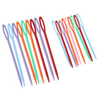 18 pcs Plastic Hand Sewing Yarn Darning Tapestry Needles Craft DT