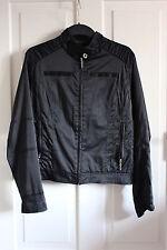 SASCH Damen Jacke mit Stehkragen Größe 38 schwarz