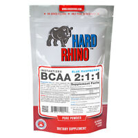 BCAA 2:1:1 Instantized Branched Chain Amino Acid Powder Hard Rhino Supplements