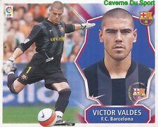 VICTOR VALDES ESPANA FC.BARCELONA STICKER LIGA ESTE 2009 PANINI