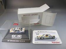 """Herpa Motor Sport:DTM Mercedes Benz 190 2.5-16 """"JET"""" Nr.3519 (SSK65)"""