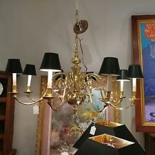 Virginia Metalcrafters Colonial Williamsburg Brass Chandelier ROYAL PALACE #7160