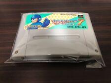 Rockman7 Mega Man 7 (Super Famicom) sfc snes cartridge only free shipping japan