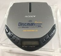 Sony Discman D-E301 Portable CD Player Tested Working *Fast Ship* E40
