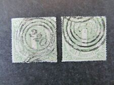 THURN & TAXIS-GERMANY, 1kr (x2)