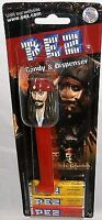 PIRATES OF THE CARIBBEAN Captain Jack Pez Dispenser [Carded]