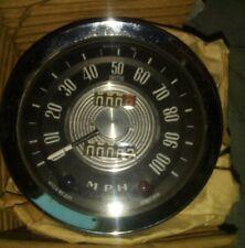Smiths 100 MPH Speedometer & Brackets + Gasket - New Old Stock Austin A60