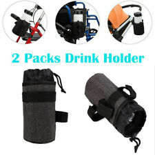2x Bicycle Motorcycle Cup Holder Universal Drink Holder For Scooter Boat Atv