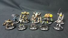 (#MK109) Mage Knight Mix lot of 10 Miniatures