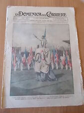 DOMENICA del CORRIERE 29/1924 Olimpiadi, Gallarate, Auto a pedali, Artiglieria