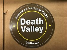 """AMERICA'S NATIONAL PARK DEALTH VALLEY CALIFORNIA 3 1/4"""" CIRCLE STICKER"""