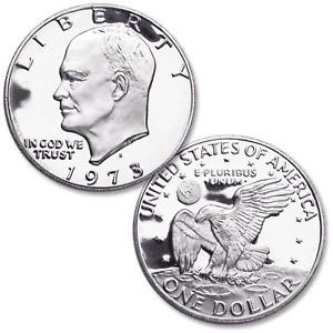 1973-S Clad  Proof Eisenhower Ike