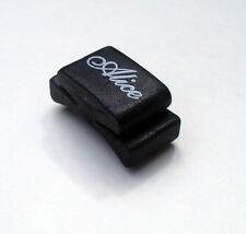 Plectrum Holder Black Rubber Guitar Pick Holder Wedge 1st Class Del. UK