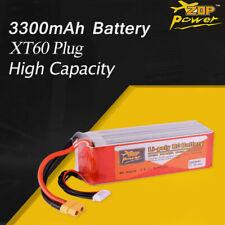 ZOP Power 22.2V 65C 3300mAh 6S Lipo Battery XT60 Plug for RC Racing Car Drone