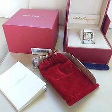 Salvatore Ferragamo F51SBQ9991 Interchangeable Strap Leather Watch US$1699.95