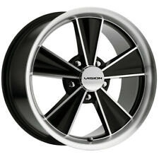 "Vision V324 Dazzler 17x8 5x4.5"" +30mm Black/Machined Wheel Rim 17"" Inch"