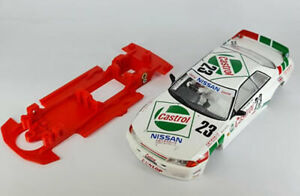 Chasis Block lineal Skyline Mustang compatible Slot.it carroceria no incluida