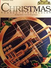 Christmas sonidos spectacular - 35 Easy Holiday solos for young Players-Trombone