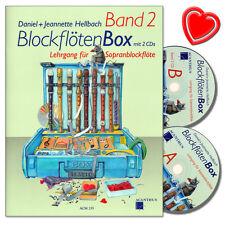 BlockflötenBox Band 2 - Lehrgang für Sopranblockflöte - ACM255 - 9990051735758