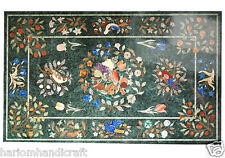 "30""x60"" Marble Coffee Dining Dinner Table Top Pietradure Mosaic Inlay Decor H479"