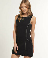Womens Superdry Dresses Selection Various Colours & Styles AA - Cosmo Black XS
