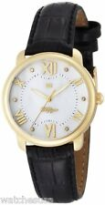 Tommy Hilfiger Women's 1781000 Classic Gold Plated Stainless Steel Black Watch