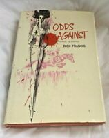 ODDS AGAINST - FIRST AMERICAN EDITION BY DICK FRANCIS 1965  HC/DJ RARE!