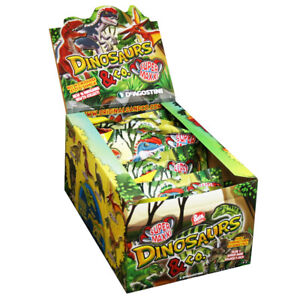 Dinosaurs & Co Super Maxxi Edition - Sammelfiguren - 1 Display(12 Tüten)