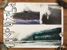 Tom Carroll Quiksilver Vintage Promo Surf Poster Reef McIntosh Chase Wilson