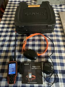 Garmin Astro 320 GPS Dog Tracking Training System with DC40 Collar + Charger
