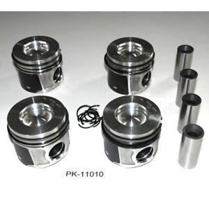 PK-11010.1 4 x Kolben STD für Ford Transit Fiat Peugeot 2,2 TDCI 4HU PGFB PGFA