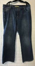 """SEVEN 7 FOR ALL MANKIND Womens Plus Size 22 JEANS Med Length 31"""" Waist 38"""""""