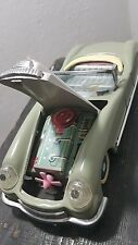 VINTAGE CAR TIN TOY FRICTION LUCKY OPEN 60's CHINA MF 787 FRONT ENGINE ACTION
