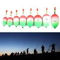 5pcs Kunststoff EVA-Schaum Ball Boia Angeln Nacht Schwimmer Bâton Lumineux
