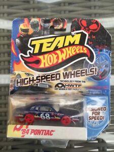 2011 Team Hot Wheels High-Speed Wheel '84 Pontiac Blue. Mattel.